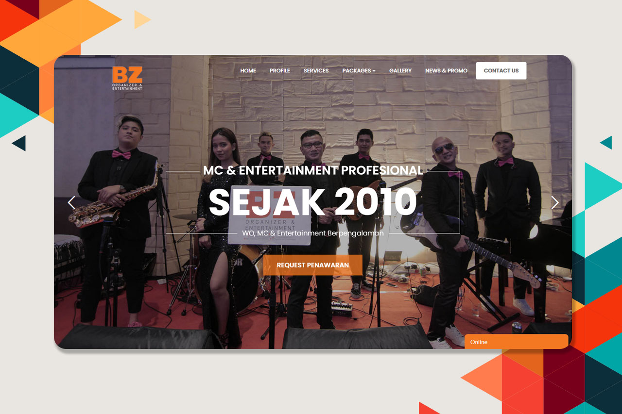 BZ Organizer & Entertainment – Official Website
