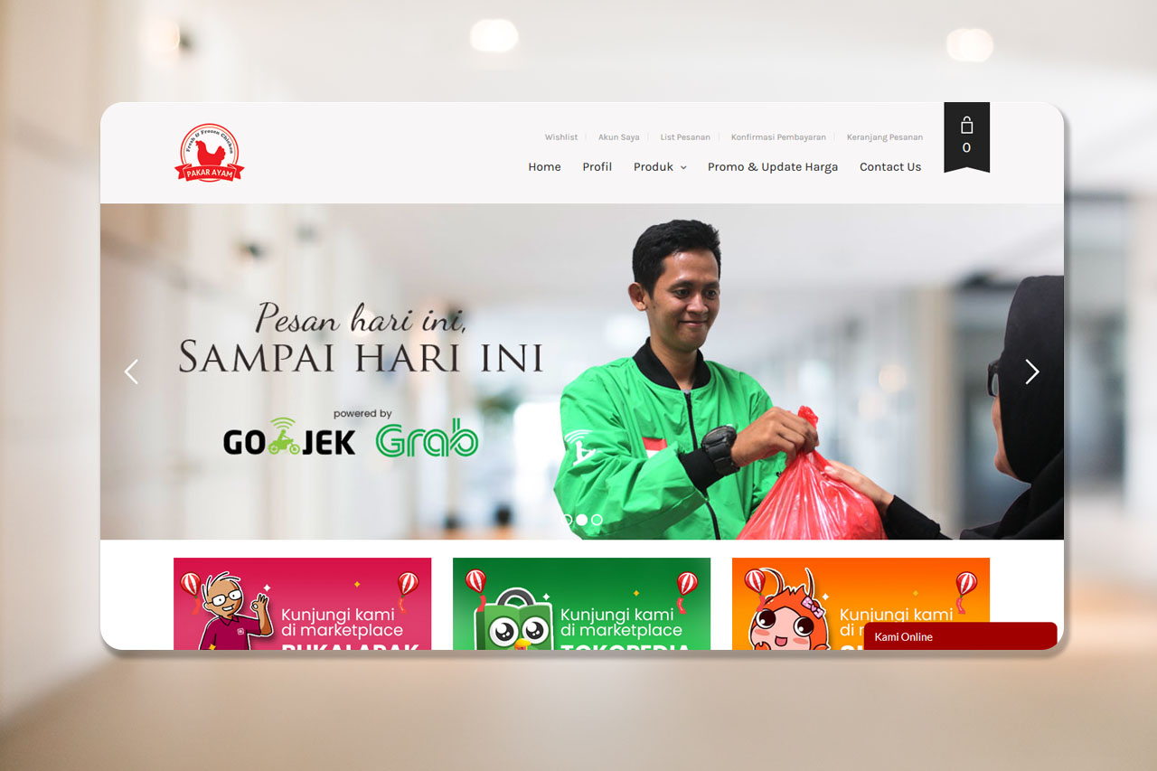 Pakar Ayam – Official Website